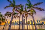 Miami, Florida, Coastal Skyline - 208778074