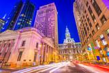 Philadelphia, Pennsylvania, USA on Broad Street - 208778081