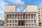 Bratislava, Slovakia - May 24, 2018: The General Prosecutor's Office of the Slovak Republic (Generálna prokuratúra SR) in Bratislava.