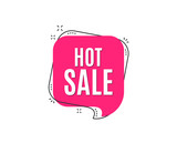 Hot Sale. Special offer price sign. Advertising Discounts symbol. Speech bubble tag. Trendy graphic design element. Vector - 208796806