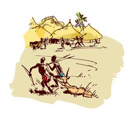 African settlement