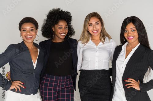 Sticker Group Of Minority Businesswomen