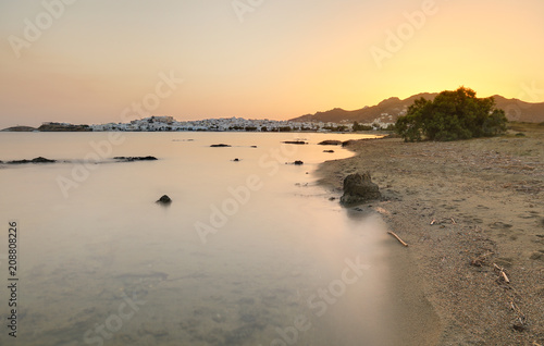 Aluminium Strand Greece Sunrise