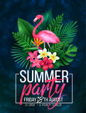 illustration tropical party - 208840696