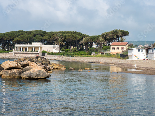 Aluminium Toscane Strand in der Toskana