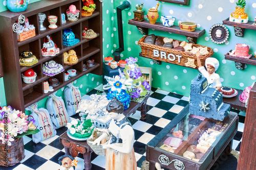 Puppenhaus-Bäckerei / Puppenstube-Bäckerei