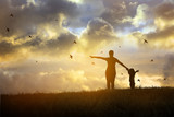 Family worship concept: