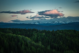 Evening Clouds - Endless Forests - Coastal Mountains
