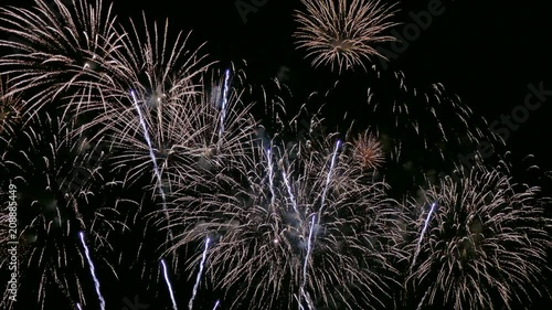 4K Firework display