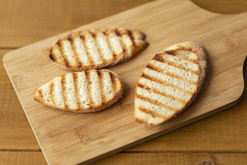 Grill Toasted Bread