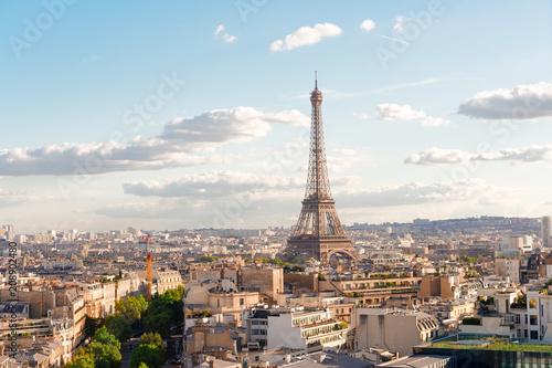 eiffel tour and Paris cityscape - 208902480