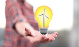 Concept of clean energy - 208909616