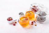 Mix of healthy herbal tea - 208913499