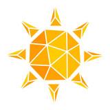 Sun icon illustration - 208915223