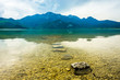 Leinwanddruck Bild - kochel lake - bavaria