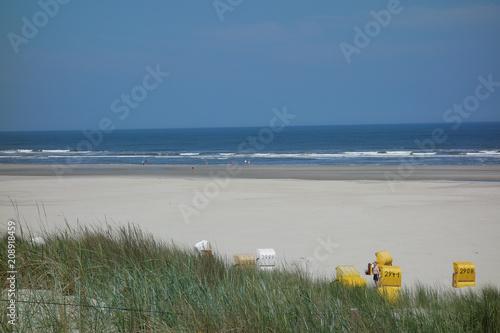 Fotobehang Noordzee Die Nordseeinsel Juist