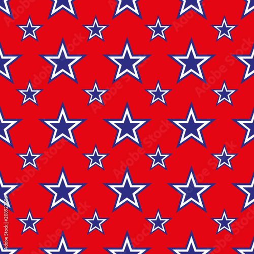 4th of July background - 208927696