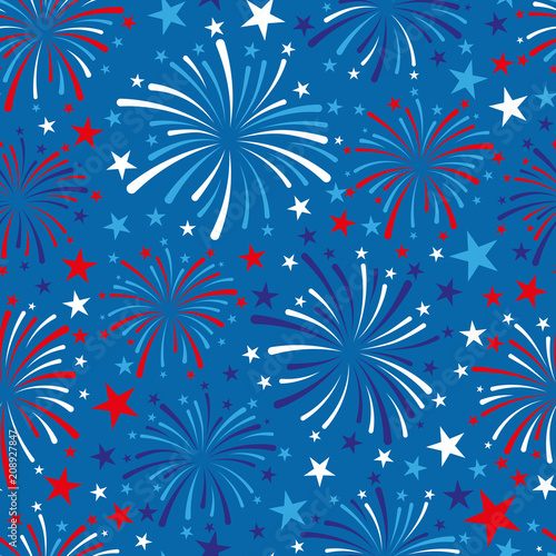 4th of July background - 208927847