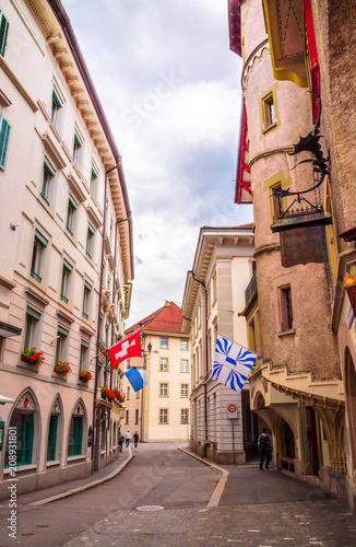 Pejzaż z Lucerny, Szwajcaria