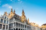 BRUSSELS, BELGIUM - August 27, 2017: Grand Place in Belgium. - 208939641