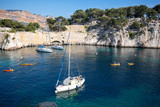 Calanques of Cassis in south of France, Port-Miou
