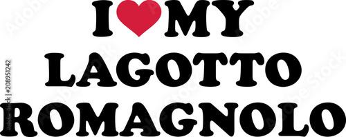 I love my Lagotto Romagnolo
