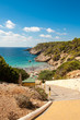 Strand der Cala Boix