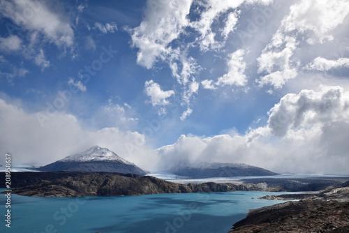 Glacier Upsala en Patagonie, Argentine