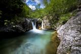 cascata nelle Alpi italiane - 208964059