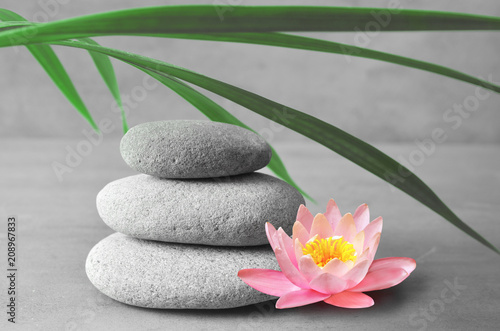 Stones balance. Zen and spa concept.