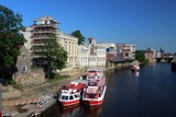 The Guildhall and the River Ouse, York.