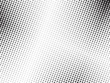 Abstract halftone dots texture background. Grunge black and white  backdrop. - 208981820