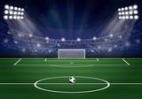 Terrain de football - 208983825