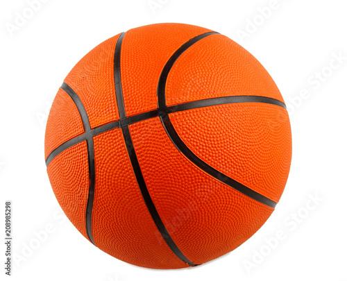 Fotobehang Basketbal Close-up of basketball