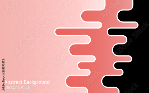 Canvas Abstractie Art Abstract vector background, template design