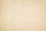 Fototapety Pastel abstract Hessian or sackcloth fabric or hemp sack texture background. Wallpaper of artistic wale linen canvas. Blanket or Curtain of cotton pattern with copy space for text decoration.