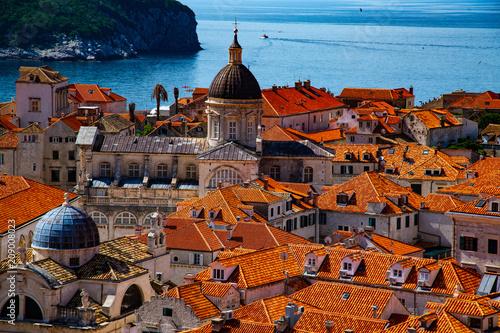 View of Old Town, Dubrovnik Croatia © Steve