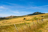 View of the countryside, fields and hills in the region of Mistretta - 209044254