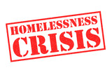 HOMELESSNESS CRISIS Rubber Stamp - 209056693