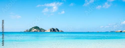 Aharen Beach, wyspa Tokashiki, grupa wysp Kerama, Okinawa