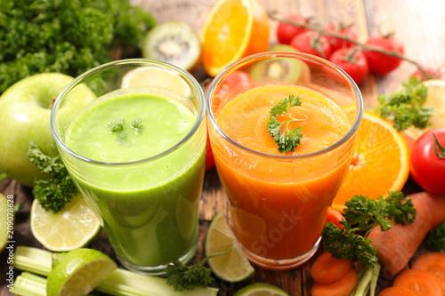 sok warzywny, smoothie