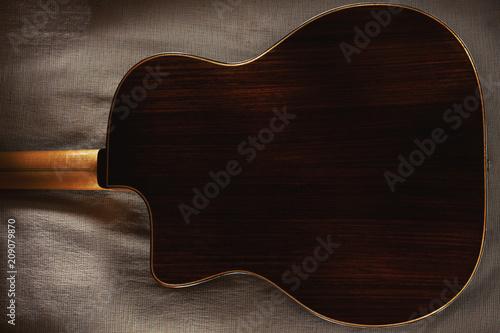 Back of a Gypsy Guitar - 209079870