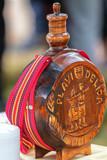 Traditional Serbian Wood Bottle - 209086443