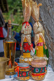 Traditional Ukrainian objects exhibited on one home - 209086461