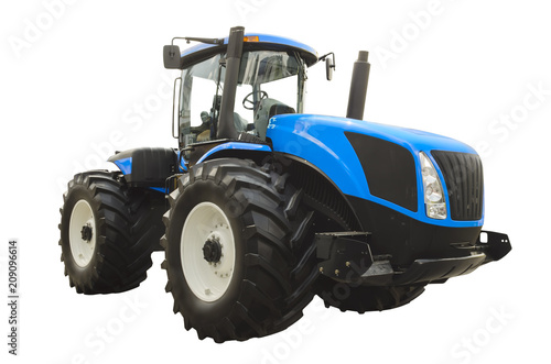 Fotobehang Trekker Large agricultural tractor