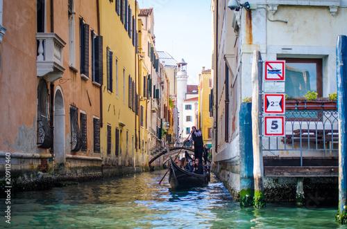 venetian canal cityscape