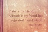 friend is truth Newton