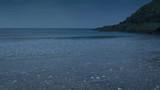 Moving Along Beach Shore At Dusk - 209118230