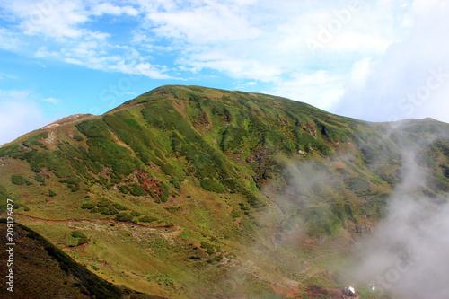 Fotobehang Landschappen В горах