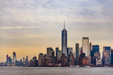 SKyline of NYC from the ferry to staten island - 209135839